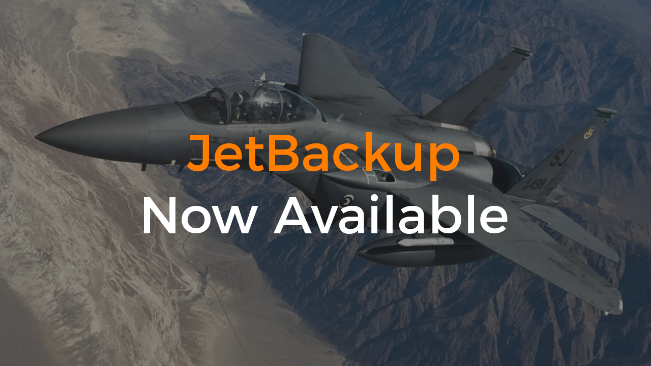 JetBackup Now Available