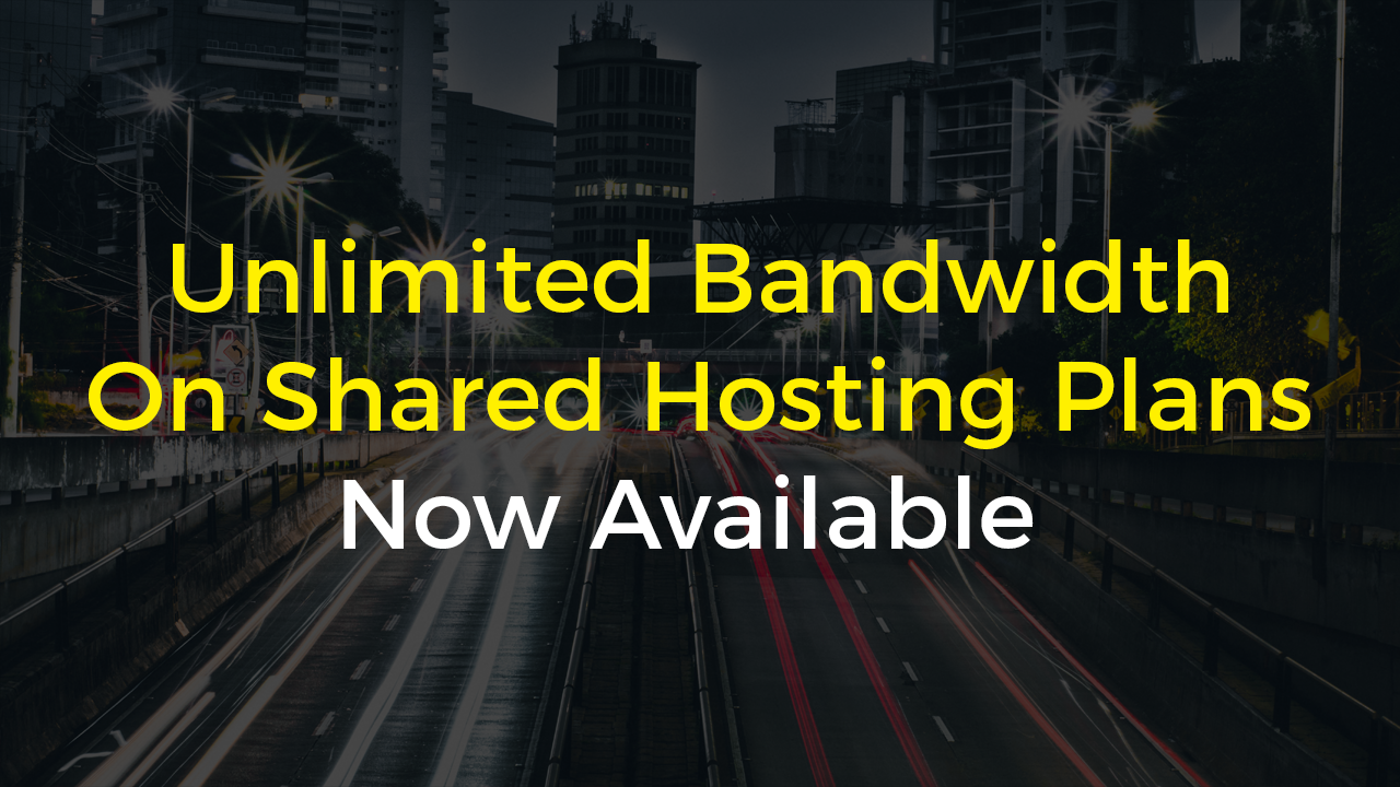 Unlimited Bandwidth