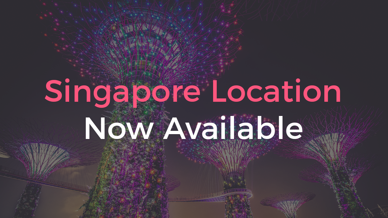 Singapore Location Now Available