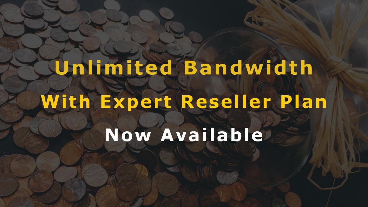 Unlimited Bandwidth